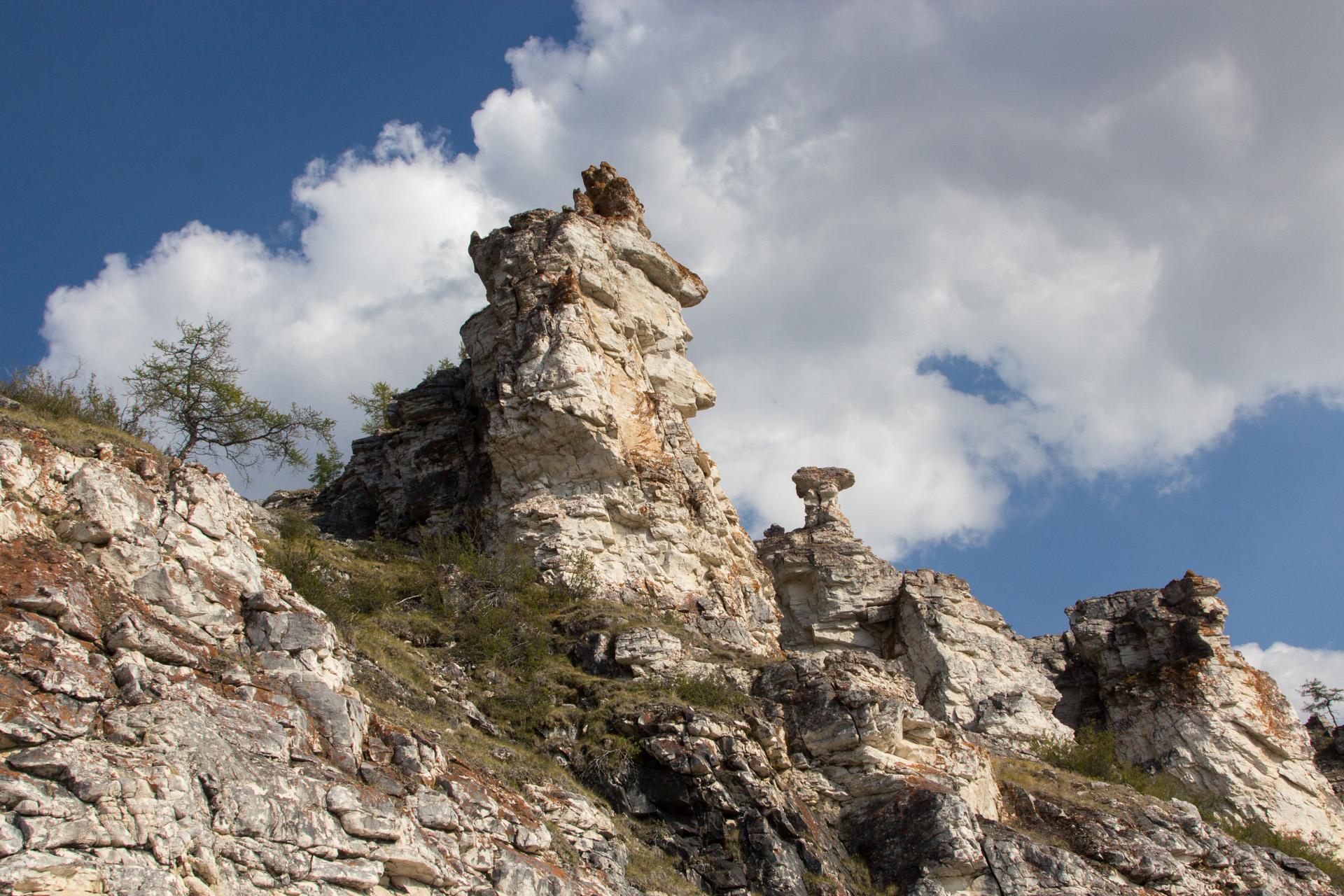каменные останцы