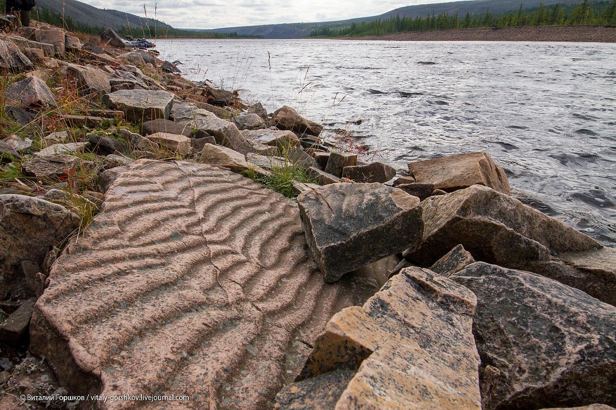 Знаки морской ряби на песчаниках