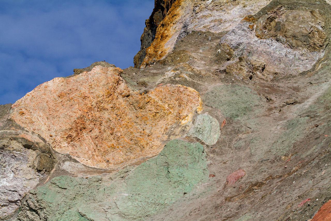 Пёстрые скалы
