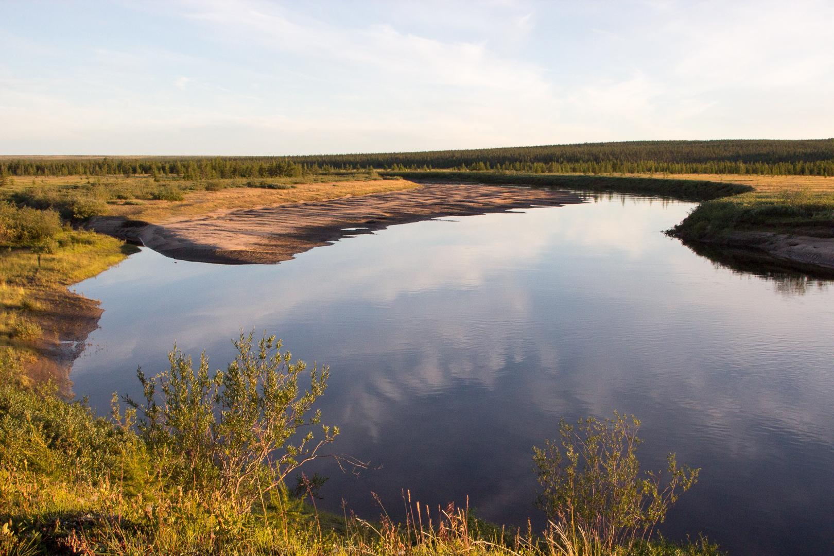 река Анабарка