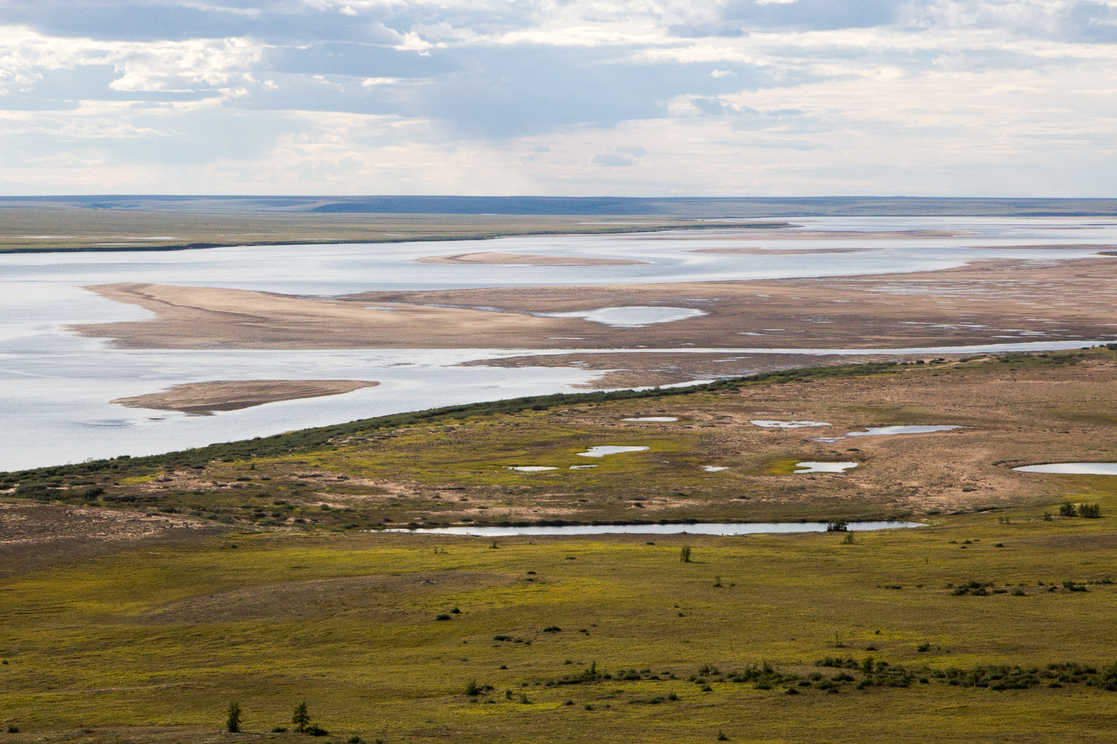 река Попигай