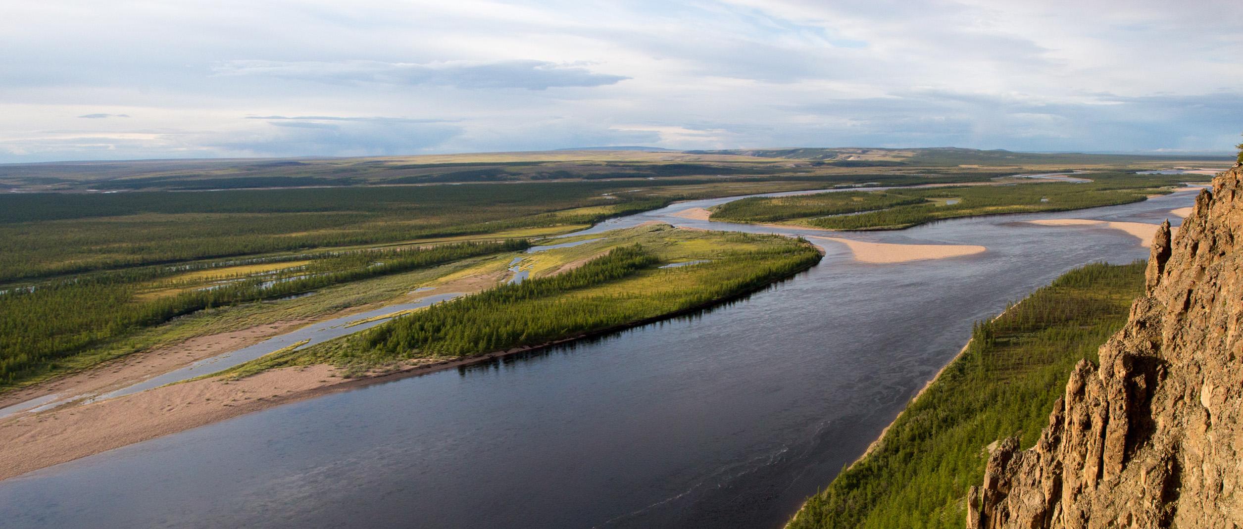 Пейзажи реки Рассоха