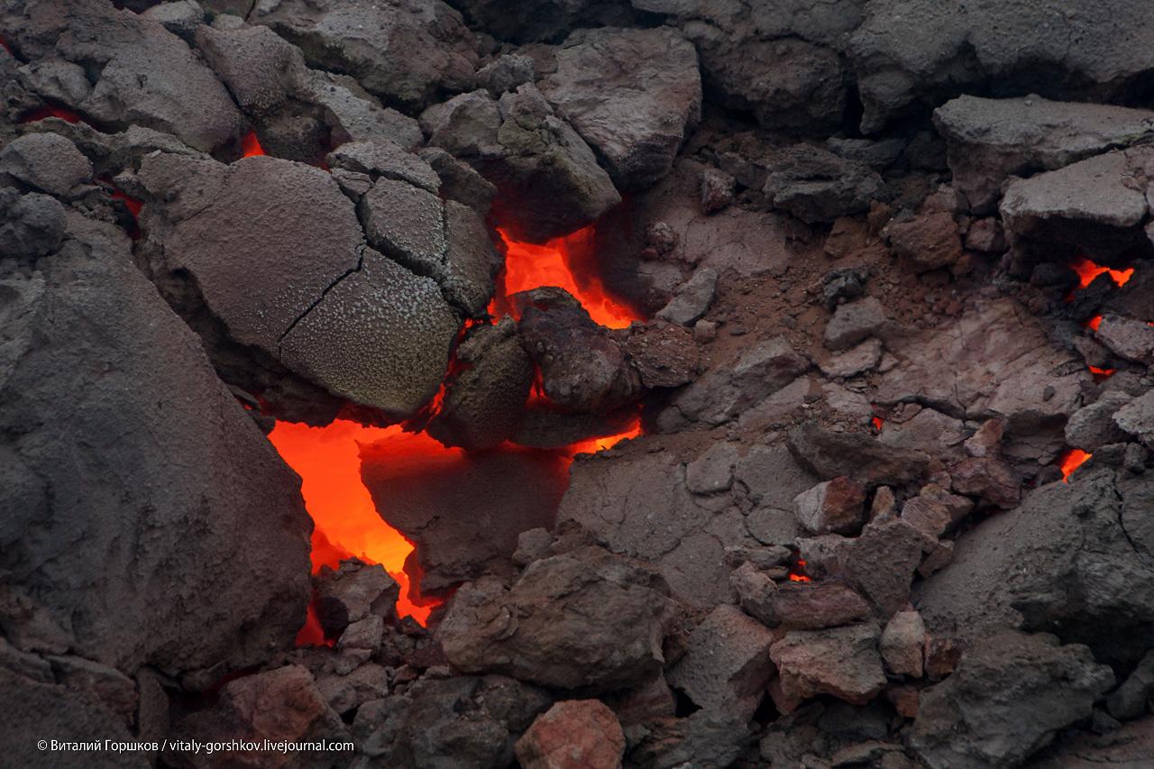 горящие угли Таймыра