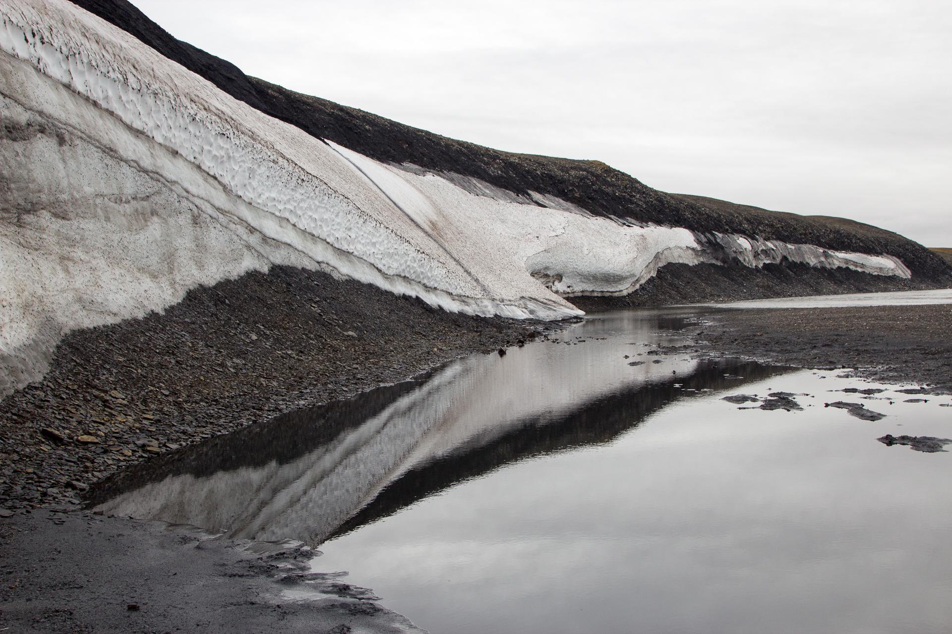 ледник на Таймыре
