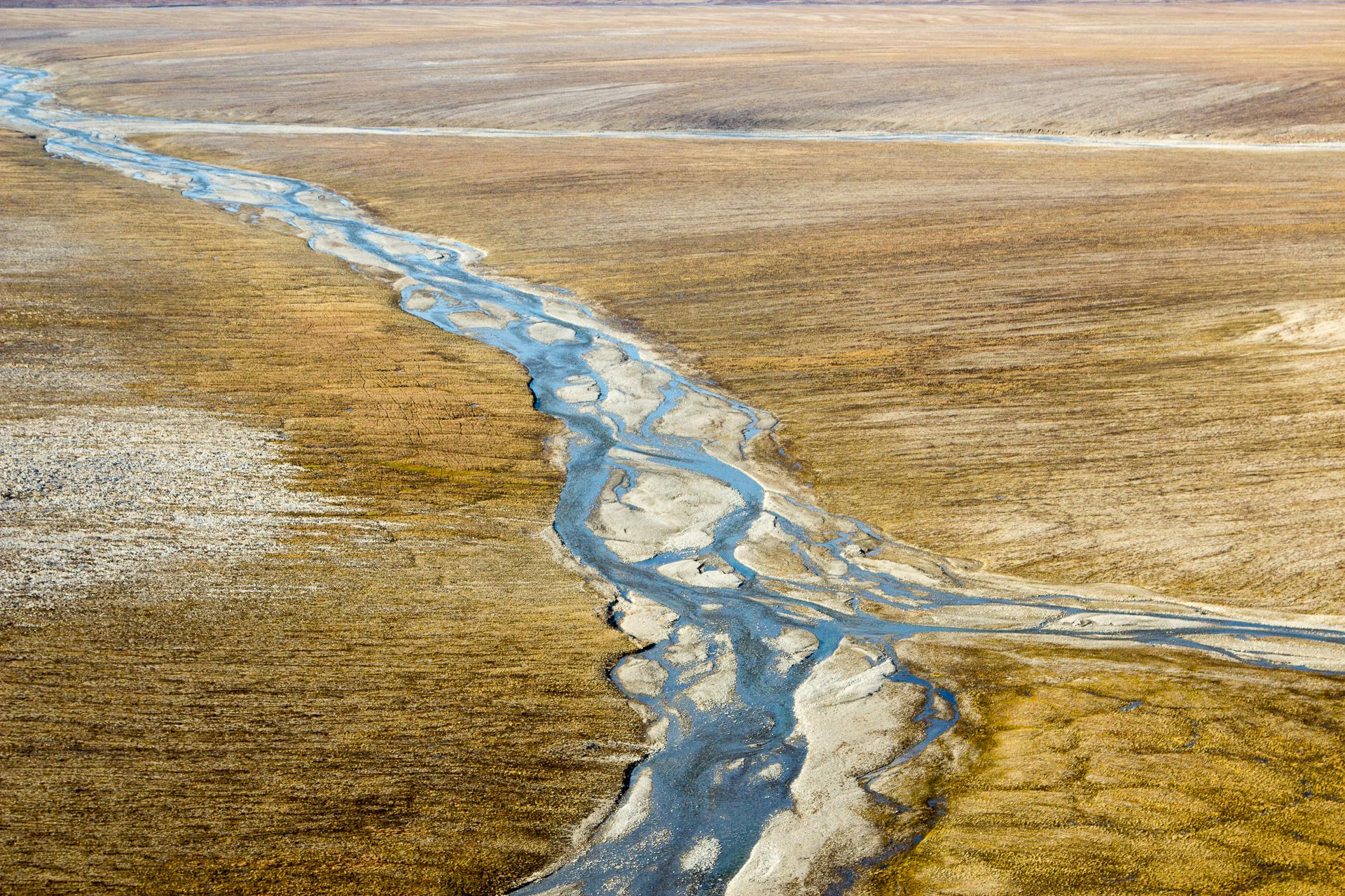 река на Таймыре